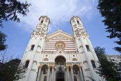 Helgon Spyridon den nya kyrkan Arkivfoto