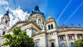 Helgon Stephens Cathedral Budapest Hungary Fotografering för Bildbyråer
