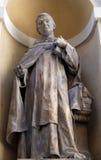 Helgon Thomas Aquinas fotografering för bildbyråer