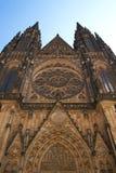 Helgon Vitus Cathedral Arkivfoto