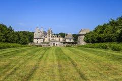 Helgon Vougay, Finistère, Brittany, Frankrike Arkivbild