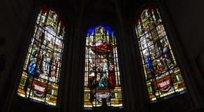 HelgonAntoine kyrka, Compiegne, Oise, Frankrike royaltyfri bild