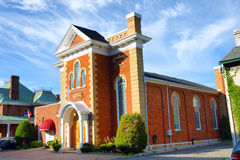 HelgonAthanassius grekisk ortodox kyrka Kingston Ontario Canada Arkivfoton