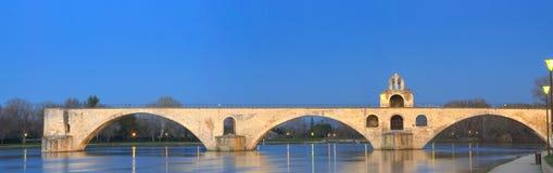 HelgonBenezet bro - Avignon Arkivfoton