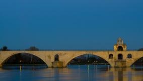 HelgonBenezet bro - Avignon Arkivbilder
