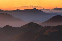 HelgonCatherine soluppgång Fotografering för Bildbyråer