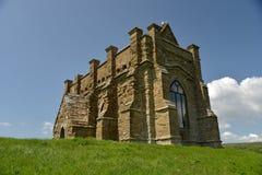 HelgonCatherines kapell, Abbotsbury, Dorset Fotografering för Bildbyråer