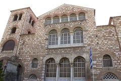 HelgonDimitrios Christian Orthodox kyrka i Thessaloniki royaltyfri bild