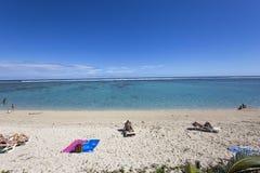 HelgonGilles strand, La Reunion Island, Frankrike Arkivfoton