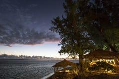 HelgonGilles strand, La Reunion Island, Frankrike Royaltyfri Foto