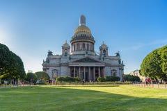 HelgonIsaac's domkyrka den största ryska ortodoxa domkyrkan Royaltyfri Foto
