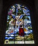 HelgonJacques kyrka, Compiegne, Oise, Frankrike royaltyfria bilder