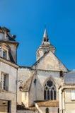 HelgonLeger kyrka i Cognac, Frankrike fotografering för bildbyråer