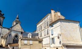 HelgonLeger kyrka i Cognac, Frankrike royaltyfri fotografi