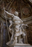 HelgonLonginus staty Royaltyfria Foton