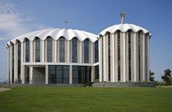 HelgonMicheal Catholic kyrka royaltyfri foto