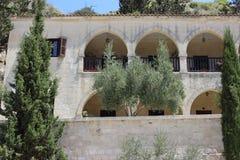 HelgonNeophytos kloster i Cypern Fotografering för Bildbyråer