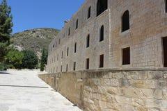 HelgonNeophytos kloster i Cypern Royaltyfri Fotografi