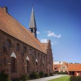 HelgonOlafs kyrka Helsingor royaltyfria foton