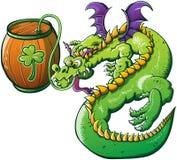 HelgonPatricks dag drucken drake Arkivbilder