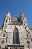 HelgonStephan domkyrka i Wien, Österrike arkivfoton