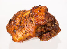 Helhet bakad meat Arkivfoto