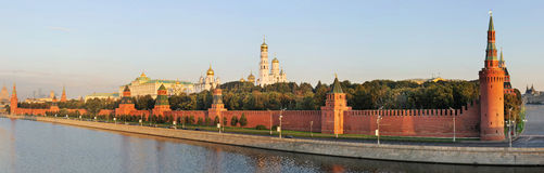 helhet kremlin moscow russia arkivfoton