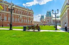Helheten av Tsaritsyno Arkivfoto