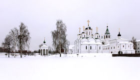 Helhetkloster i Murom, Ryssland Fotografering för Bildbyråer