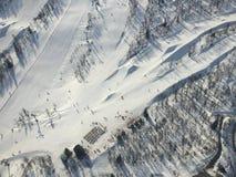 Heli-lanzamiento de Hemsedal foto de archivo