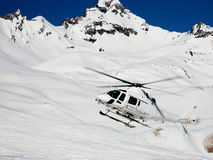 Heli-Skiing Royalty Free Stock Image