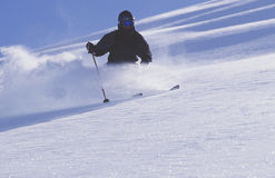 Heli-skiing in the Chugach Mountains of Alaska Royalty Free Stock Photo