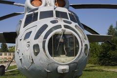 Helicóptero abandonado Fotografia de Stock Royalty Free