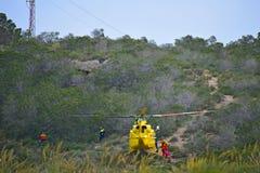 Helicóptero aero-marítimo del rescate Fotografía de archivo libre de regalías
