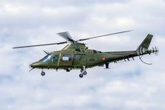Helicóptero Augusta A-109 Foto de archivo libre de regalías