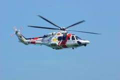 Helicóptero b Fotografía de archivo