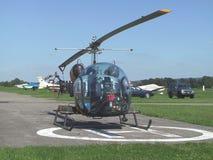 Helicóptero Bell B-46 foto de archivo
