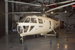 Helicóptero Breguet G 111 y x28; 1948& x29; en el museo de la astronáutica a Foto de archivo libre de regalías