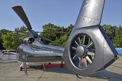 Helicóptero Bucareste Fotografia de Stock Royalty Free
