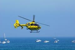 Helicóptero c Foto de archivo