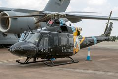 Helicóptero Canadá de Bell CH-146 Griffon Imagem de Stock