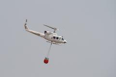 Helicóptero contraincendios Foto de archivo