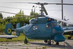 Helicóptero da marinha Imagem de Stock