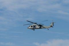 Helicóptero da marinha Imagens de Stock
