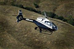 Helicóptero da polícia fotos de stock royalty free