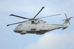 Helicóptero das forças armadas de Merlin Imagem de Stock Royalty Free