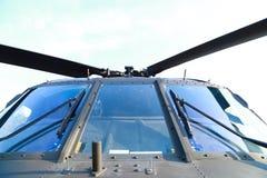 Helicóptero das forças armadas do russo Foto de Stock