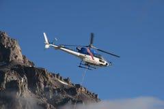 Helicóptero de Aconcagua Fotografía de archivo libre de regalías