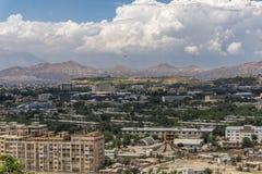 Helicóptero de Afeganistão E.U. da cidade de Kabul Imagens de Stock