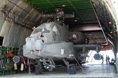 Helicóptero de Apache Imagem de Stock Royalty Free